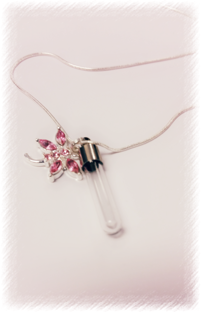Dragonfly Vial Necklace